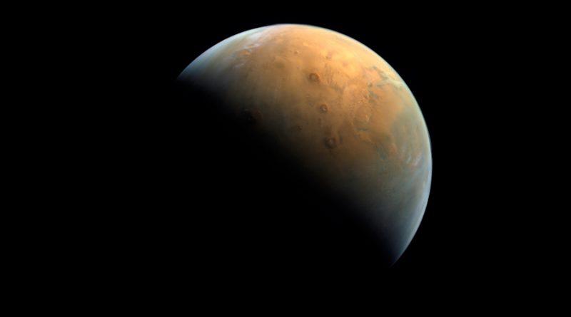 Captan primera imagen en Marte de la sonda 'Esperanza' de Emiratos Árabes