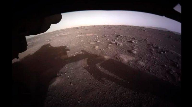 Primeras imágenes en color de Marte enviadas por el rover Perseverance