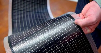 Logran paneles solares flexibles y doblables