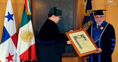 Enrique Graue, rector de la UNAM, recibe doctorado honoris causa de la Universidad de Panamá