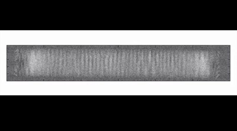 Logran primera filmación en vídeo de un cristal de espacio-tiempo