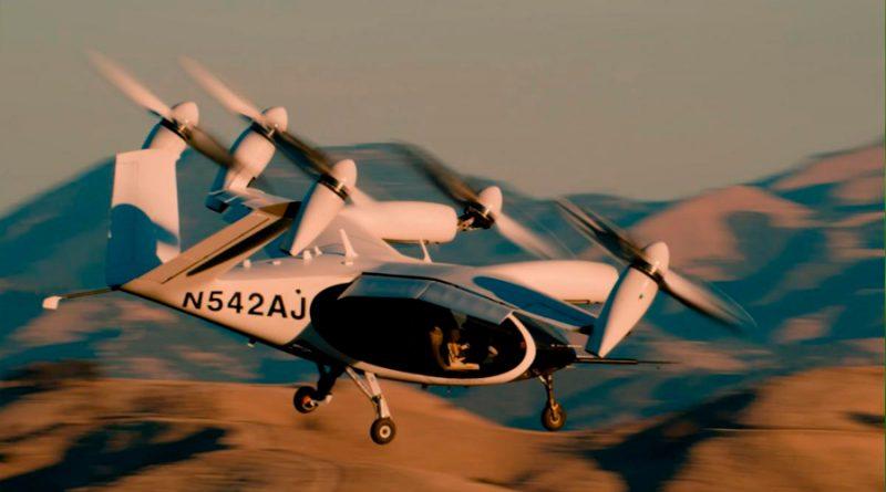 Es real: el primer taxi volador eléctrico y de despegue vertical, un vuelo completo con pasajeros