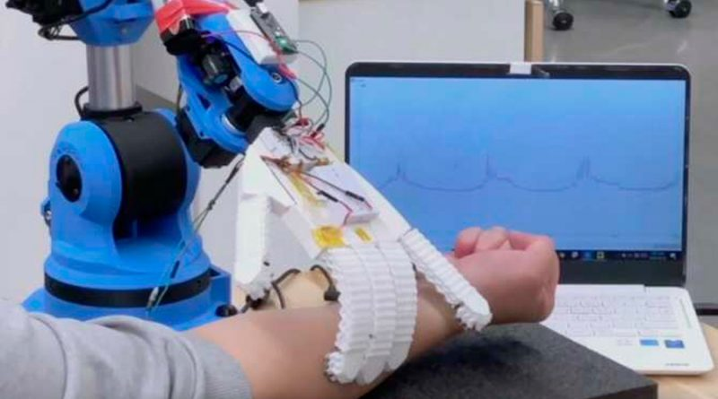 Desarrollan robots para tareas de enfermería