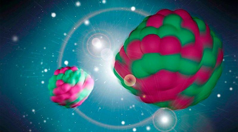 Nuevo descubrimiento sobre la rotación de los fragmentos de la fisión nuclear