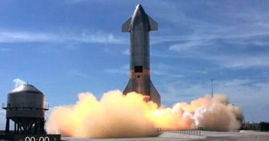 Un cohete SN10 Starship de Spacex acaba de hacer explosión