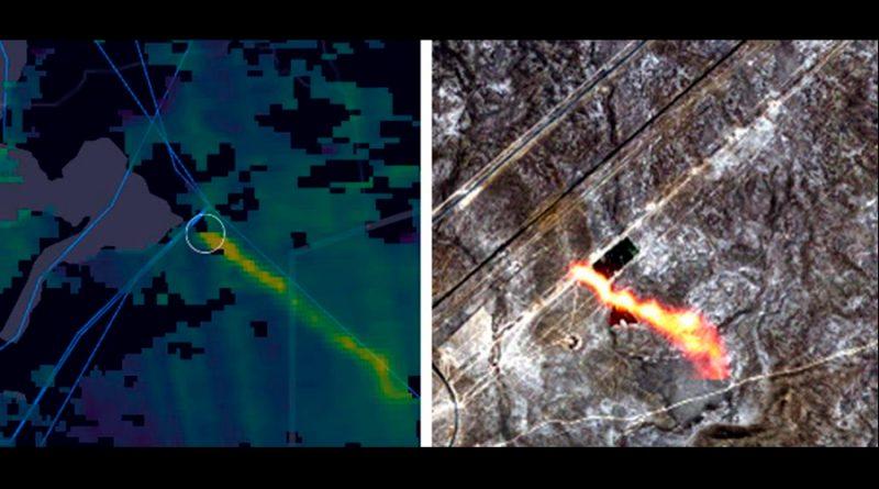 Escapes de metano en gasoductos ya son detectables desde el espacio