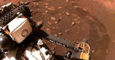 Perseverance deja sus primeras rodadas en la superficie de Marte