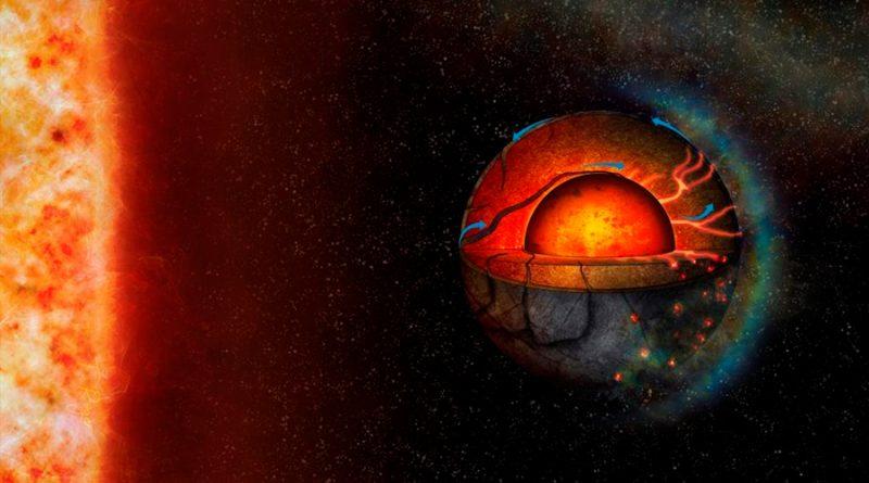 Los volcanes pueden iluminar el lado oscuro de un planeta a 45 años luz