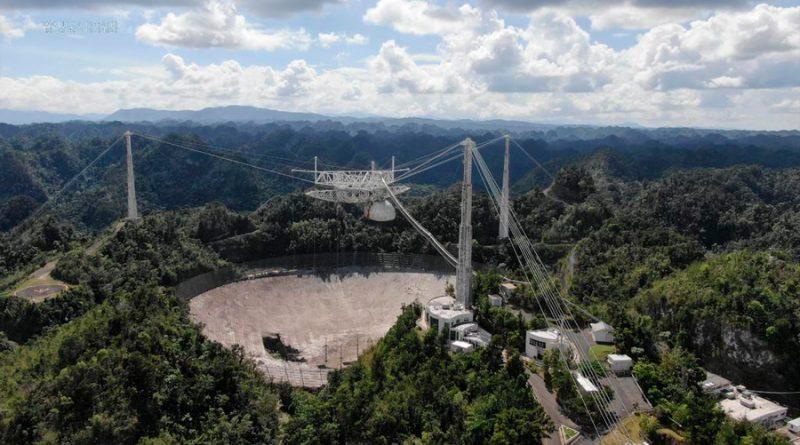 Quitar escombros del radiotelescopio que se vino abajo en Puerto Rico costaría 50 mdd