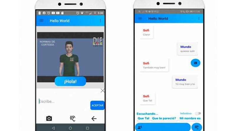 Estudiantes de México desarrollan app para que personas con discapacidad auditiva se comuniquen