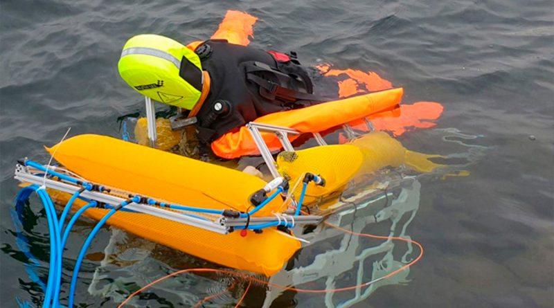 Este robot te salvará de morir ahogado