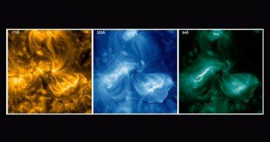 Las partículas solares más rápidas, rastreadas hasta sus raíces