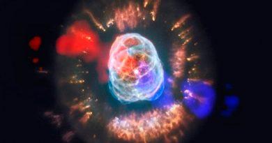 Observan por primera vez un chorro de gas emergiendo de una nebulosa