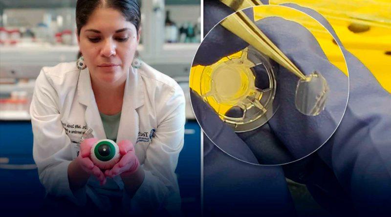 Científica mexicana premiada por investigación para curar ceguera