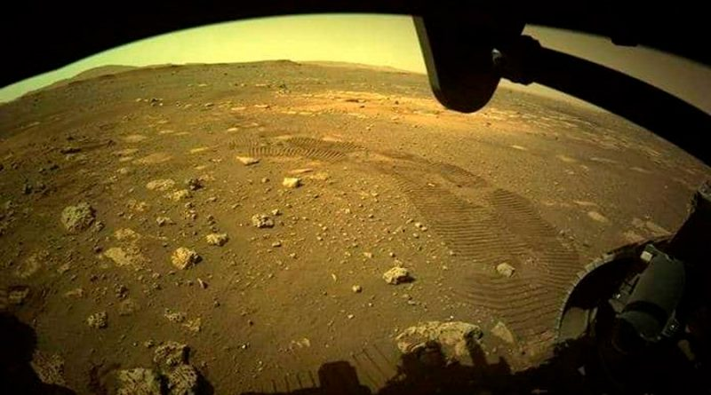 Parte del agua antigua de Marte estaría atrapada en su corteza