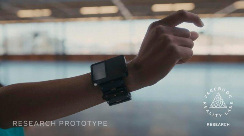Una pulsera inteligente sustituirá al teclado y al ratón según Facebook