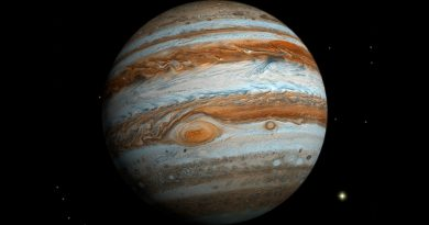 Miden potentes vientos de hasta 1,450 kilómetros por hora en Júpiter