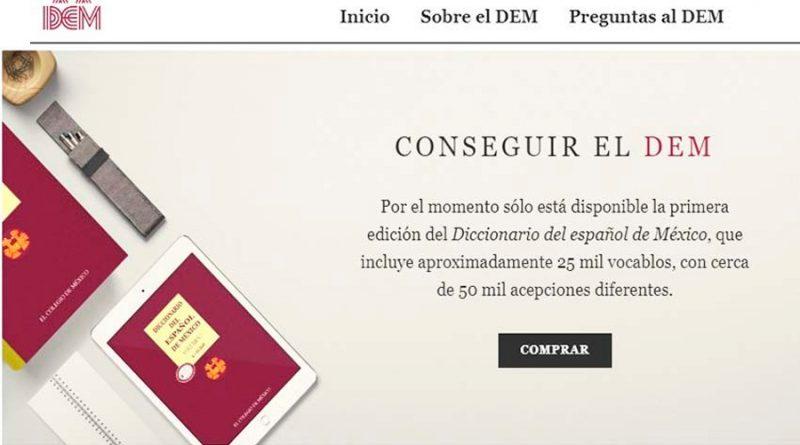 Dan a conocer la nueva versión digital del Diccionario del español de México