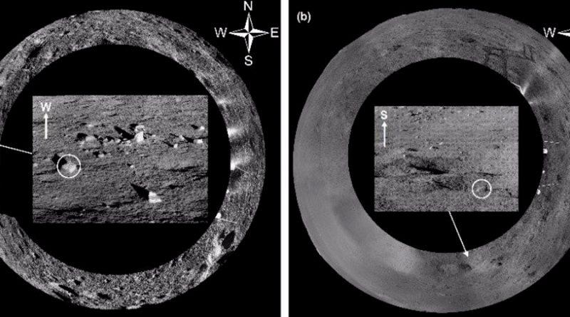 El rover chino recorre 682 metros en la cara oculta de la Luna