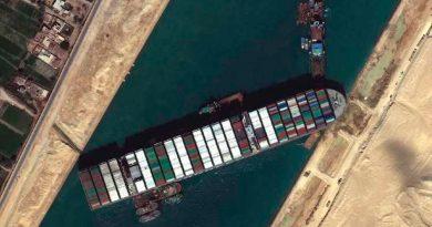 Canal de Suez: cómo es la operación para reflotar el Ever Given, el gigantesco buque de carga encallado
