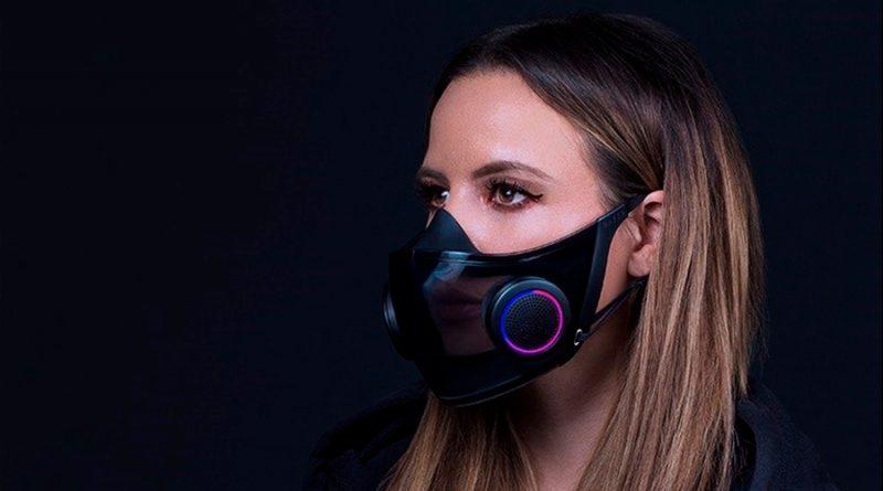 Razer confirma que lanzará su mascarilla inteligente con luz personalizable