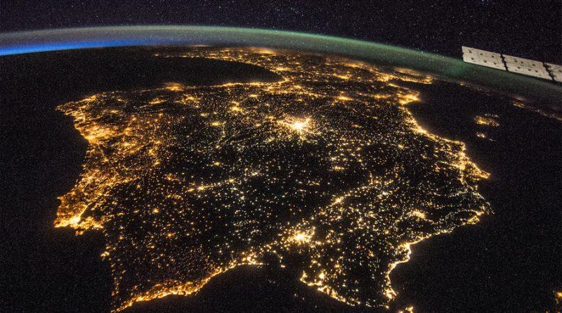 Los satélites contribuyen a la contaminación lumínica nocturna