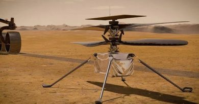 Comienza el despliegue del helicóptero Ingenuity en Marte