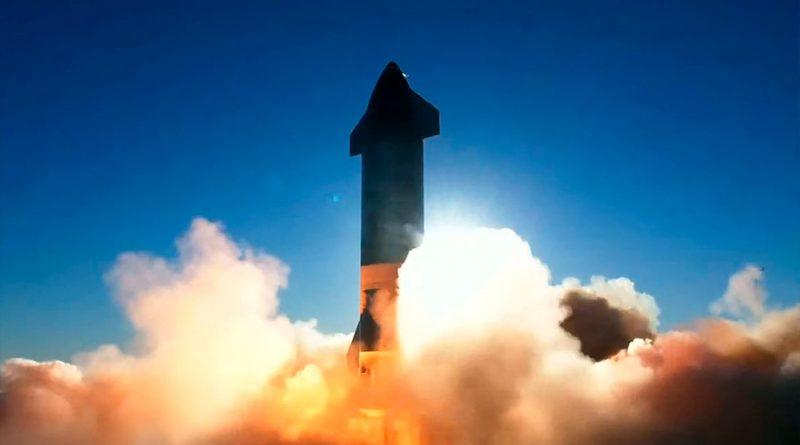 El cohete Starship de Space X se estrella durante el aterrizaje