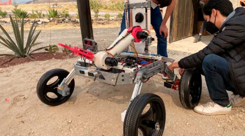 Desarrollan estudiantes de universidades de México robot explorador para Marte