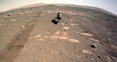 Toca el helicóptero 'Ingenuity' la superficie de Marte [VIDEO]
