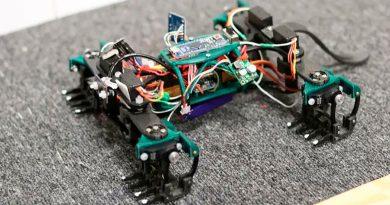 Crean un lagarto robot que trepa por las paredes