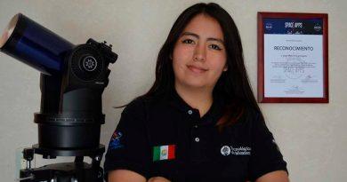 Estudiante mexicana vivirá como astronauta en un programa de la NASA