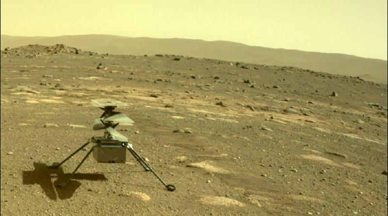 NASA retrasa vuelo de Ingenuity en Marte por problemas técnicos