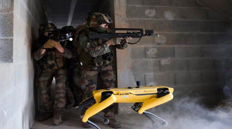 El robot Spot se pasa al ejército francés y ya entrena en pruebas de combate