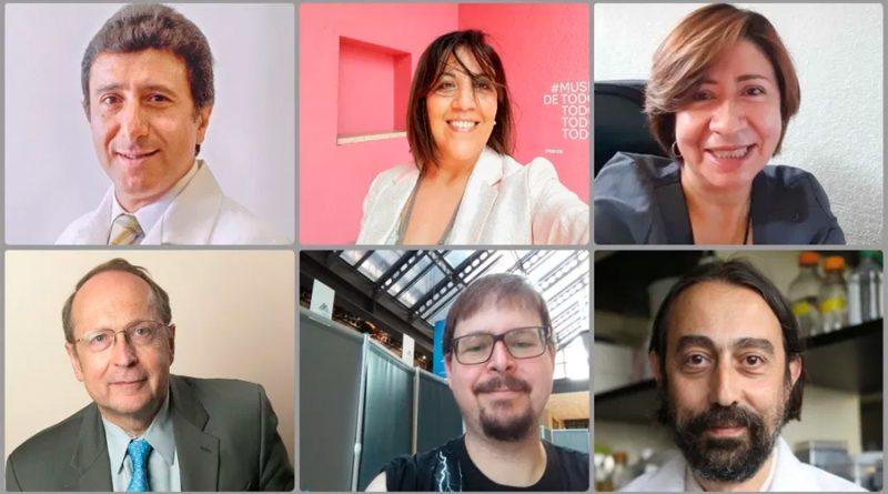 """Dos mujeres y 4 hombres son los científicos de """"Patria"""", vacuna de México contra el covid-19"""