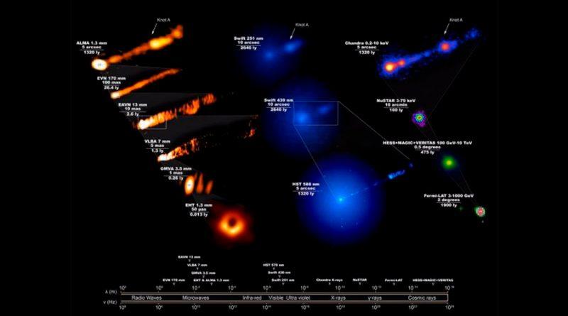 Desvelan estructuras únicas tras la primera imagen de un agujero negro