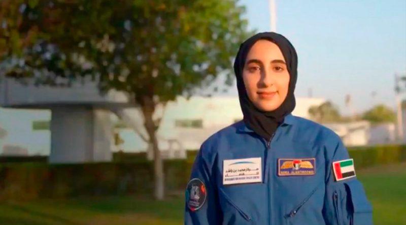 Noura al Matrooshi se convierte en la primera mujer árabe astronauta