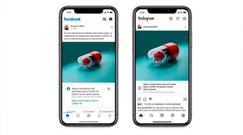 Van Facebook e Instagram contra información sin rigor científico sobre covid-19