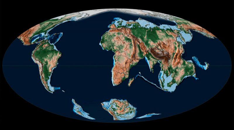 Christopher R. Scotese presenta Atlas Geográfico con más de cien mapas e intervalos de tiempo diferentes