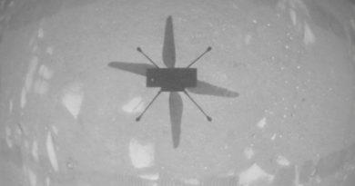 El helicóptero Ingenuity hace historia al levantar el vuelo en Marte
