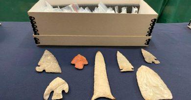 México recupera 523 piezas arqueológicas desde Estados Unidos