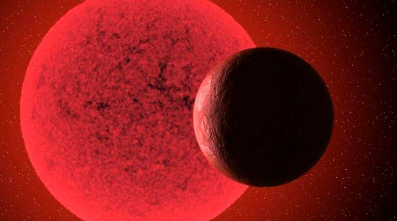Investigadores detectan una nueva supertierra alrededor de una estrella enana roja