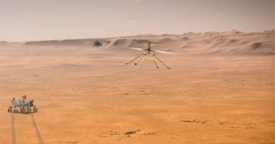 Así fue el primer vuelo de Ingenuity, el helicóptero de Perseverance en Marte