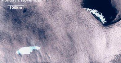 El final llega para el gran iceberg A68 tras cuatro años de deriva