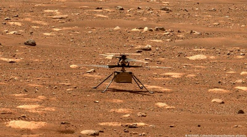 Ingenuity de la NASA vuela exitosamente por segunda vez en Marte