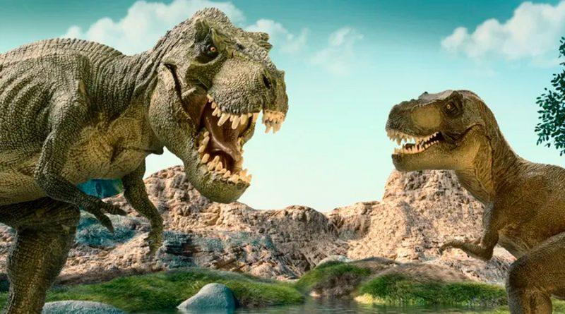 Los tiranosaurios vivían en manadas como los lobos, confirma investigación