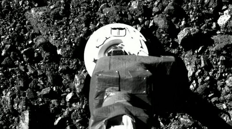 La NASA muestra nuevas imágenes del asteroide Bennu
