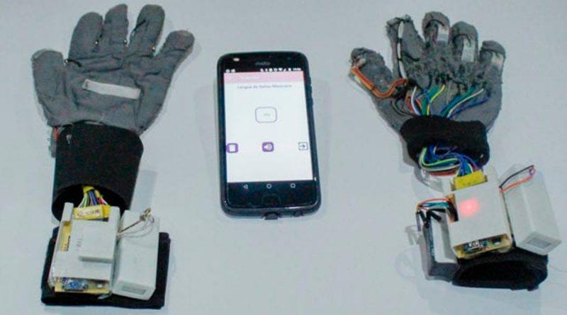 Dos ingenieras crearon guantes para descifrar la lengua de señas mexicana
