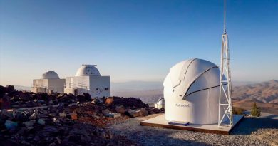 El telescopio TBT2 se activa para detectar mejor asteroides peligrosos