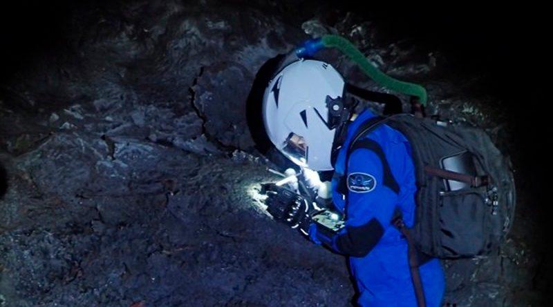 ¿La ciencia está usando trajes espaciales para explorar los volcanes de Hawái?